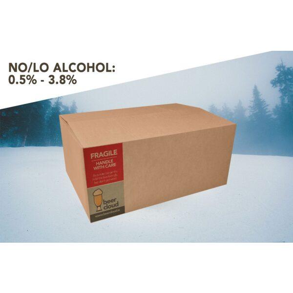 Beer Cloud No Lo Low Alcohol Beer Box